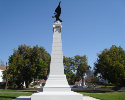 Imagen del monumento Mártires de la Aviación Militar Chilena