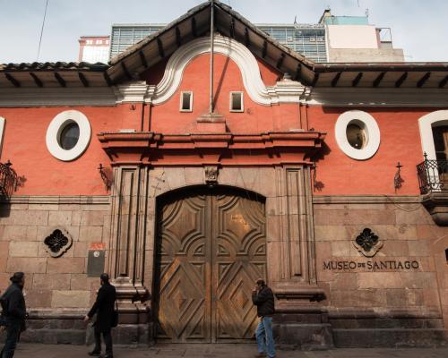 Imagen del monumento Casa Colorada