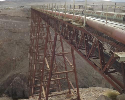 Imagen del monumento Viaducto de Conchi sobre el río Loa