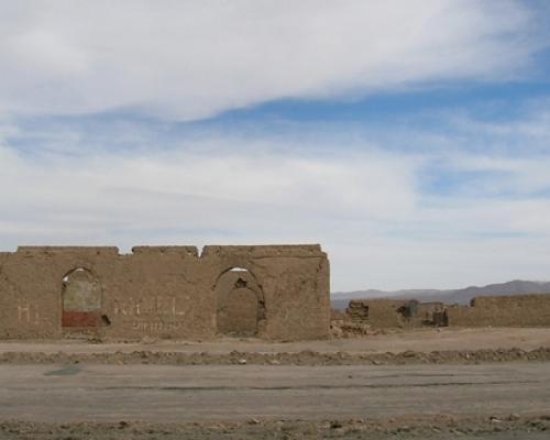 Imagen del monumento Ruinas del pueblo de Pampa Unión