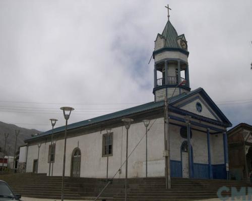 Imagen del monumento Iglesia católica y la casa contigua