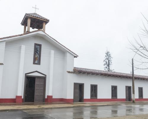 Imagen del monumento Parroquia Sagrado Corazón de Jesús de Gualleco
