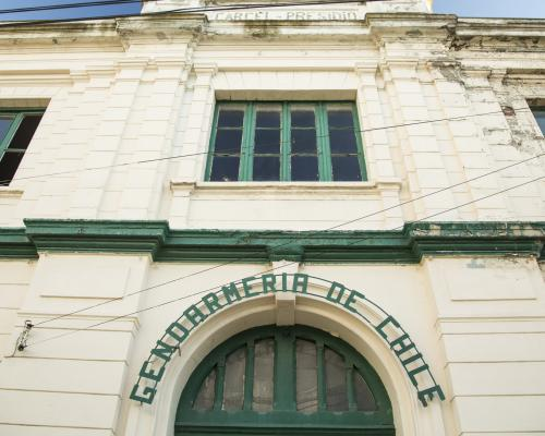 Imagen del monumento Edificio de la Dirección Regional de Gendarmería de Punta Arenas