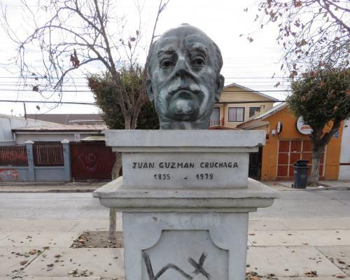 Imagen del monumento Juan Guzmán Cruchaga