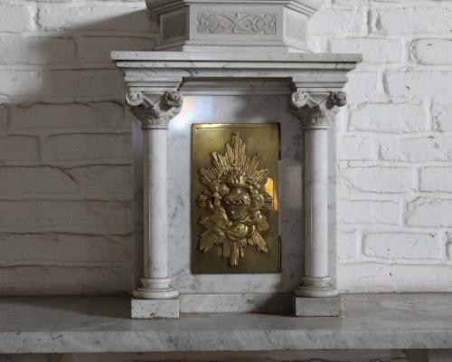 Imagen del monumento Tres objetos de Arte Sacro pertenecientes a la Orden de Santa Clara