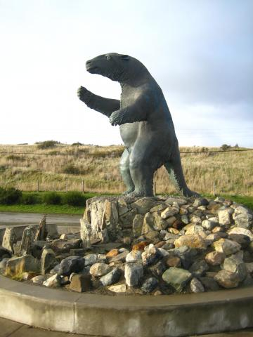 Imagen del monumento Milodón