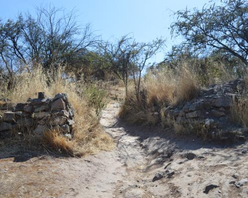 Imagen del monumento Fortaleza Incaica de Chena y sus contornos