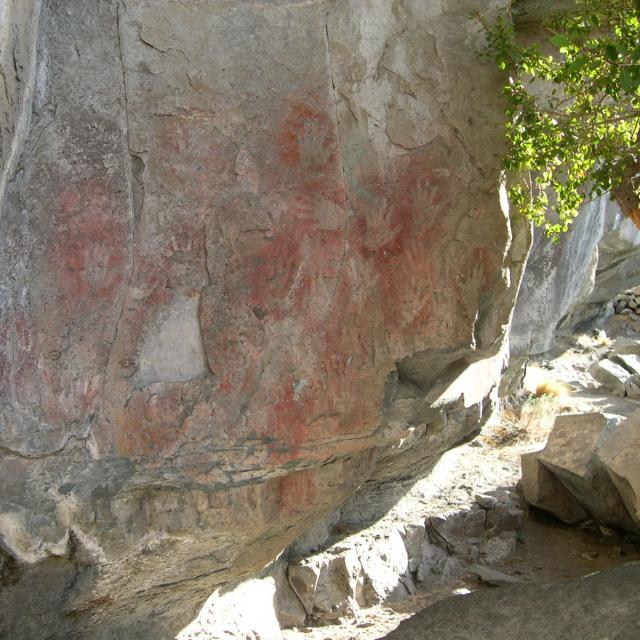 Imagen de Arte Rupestre en la Patagonia
