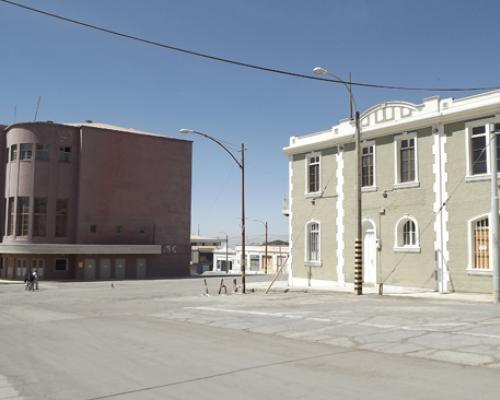 Imagen del monumento Centro Cívico del Campamento Minero de Chuquicamata