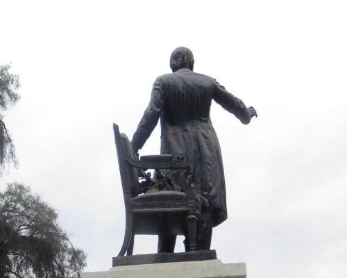 Imagen del monumento Manuel Antonio Matta Goyenechea