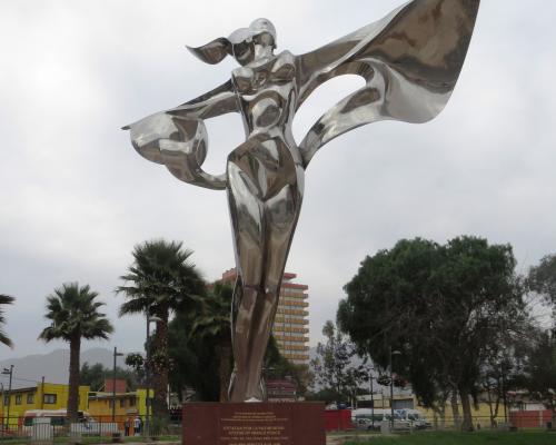 Imagen del monumento Escultura De La Paz Mundial