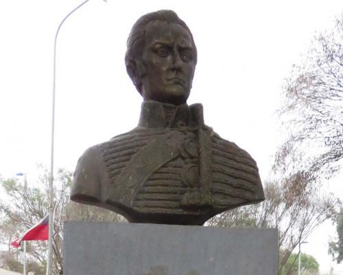 Imagen del monumento General José Miguel Carrera
