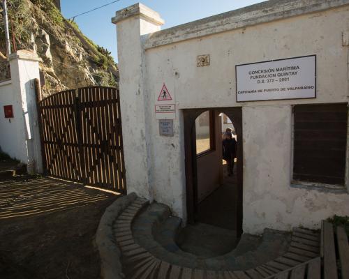 Imagen del monumento Ex Ballenera de Quintay