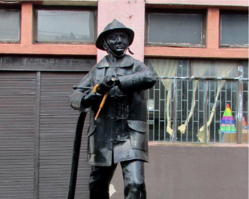 Imagen del monumento Florindo Lagos Martínez