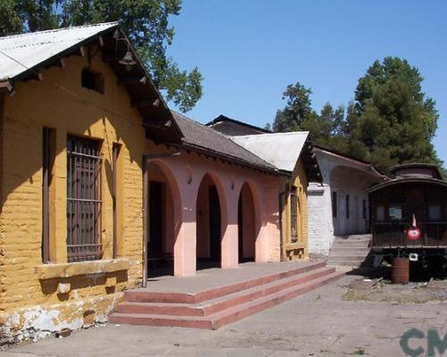 Imagen del monumento Maestranza de ferrocarriles San Eugenio y edificaciones anexas