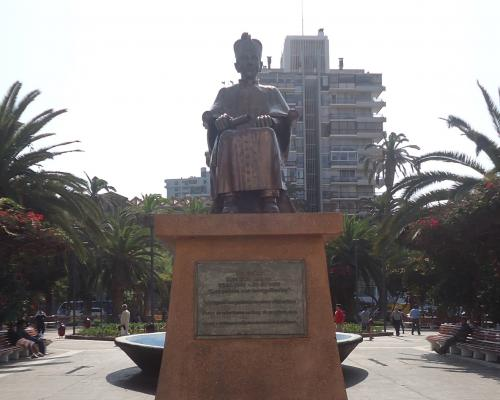 Imagen del monumento Monseñor Luis Silva Lezaeta