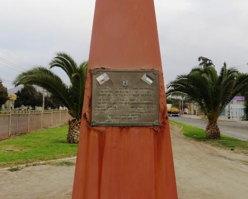 Imagen del monumento Homenaje Al Pueblo Palestino