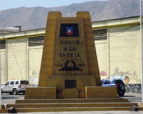 Imagen del monumento Honor A La Patria