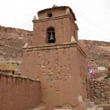 Imagen del monumento Iglesia y campanario de Caspana