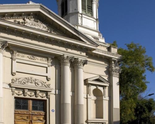 Imagen del monumento Templo parroquial de los Santos Ángeles Custodios