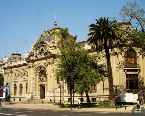 Imagen del monumento Museo Nacional de Bellas Artes comprendiento también la parte ocupada actualmente por el Museo de Arte Contemporáneo