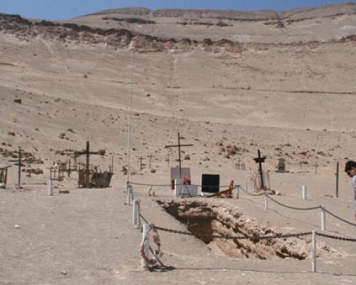 Imagen del monumento Fosa de Pisagua