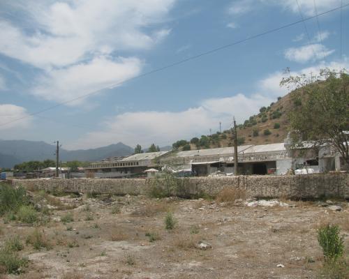 Imagen del monumento Tornamesa de la Estación de Ferrocarriles de La Calera