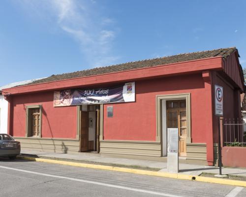 Imagen del monumento Casa donde nació Violeta Parra