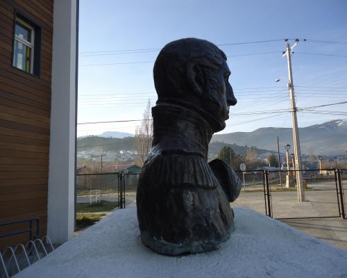 Imagen del monumento Lord Cochrane