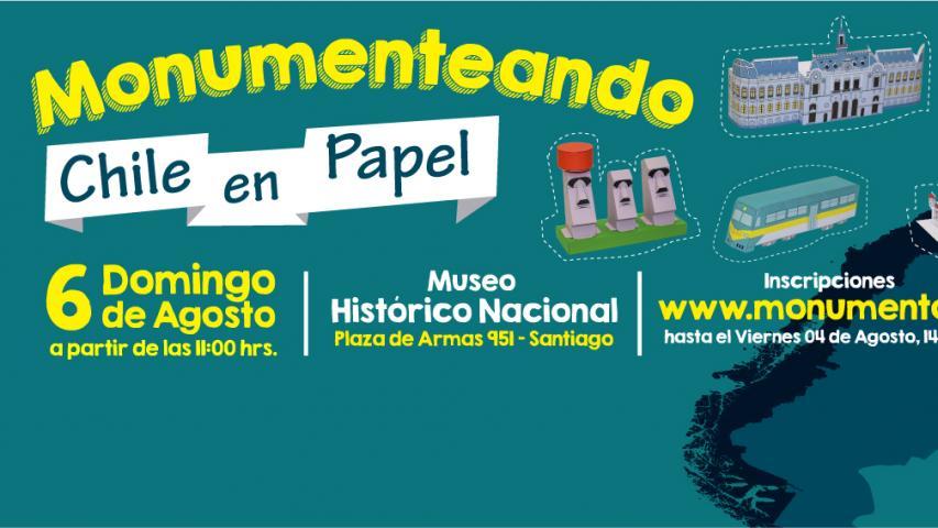 """Imagen de Invitan a """"Monumentear"""" por Chile en el Día de Niñas y Niños"""