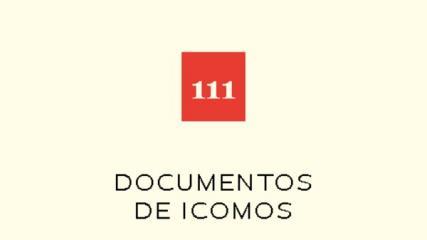 Imagen de Cuaderno N° 111 Documentos de Icomos