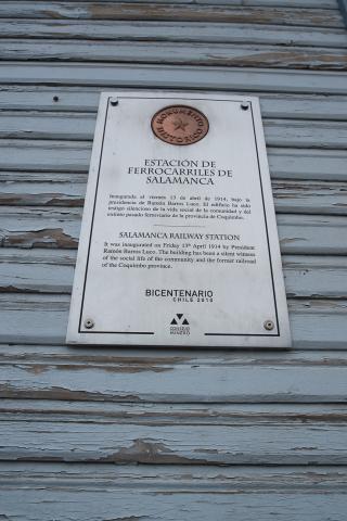 Imagen del monumento Estación de Ferrocarril de Salamanca