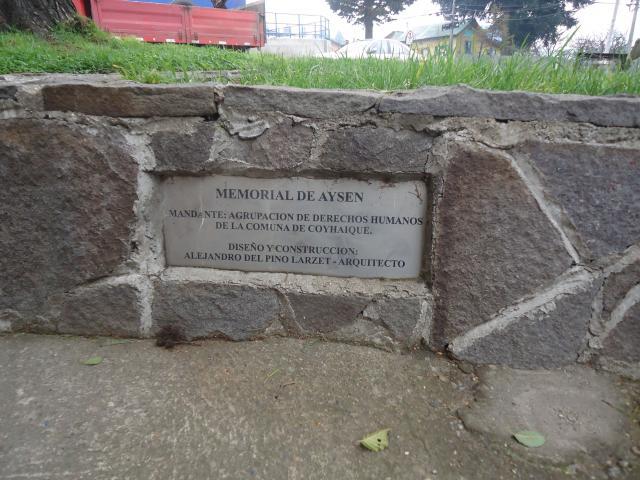Imagen del monumento Memorial En HomenajeDe Los Detenidos Desaparecidos Y Ejecutados Políticos Región De Aysén