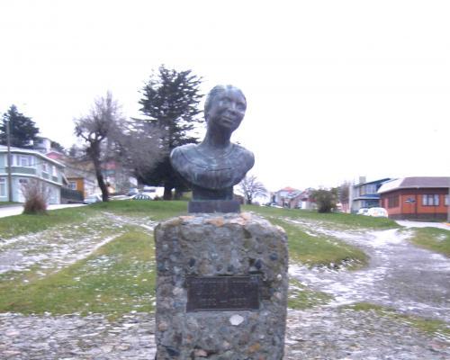 Imagen del monumento Alfonsina Storni