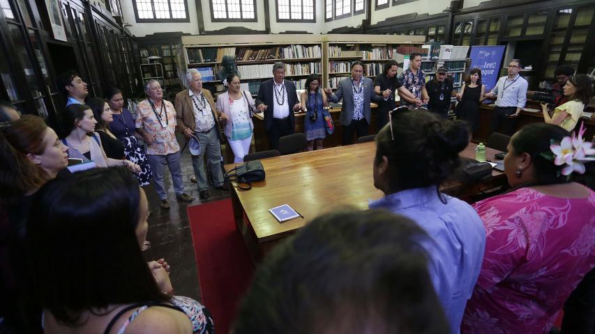 Imagen de Ministra Consuelo Valdés anuncia restitución de restos de ancestros a Rapa Nui