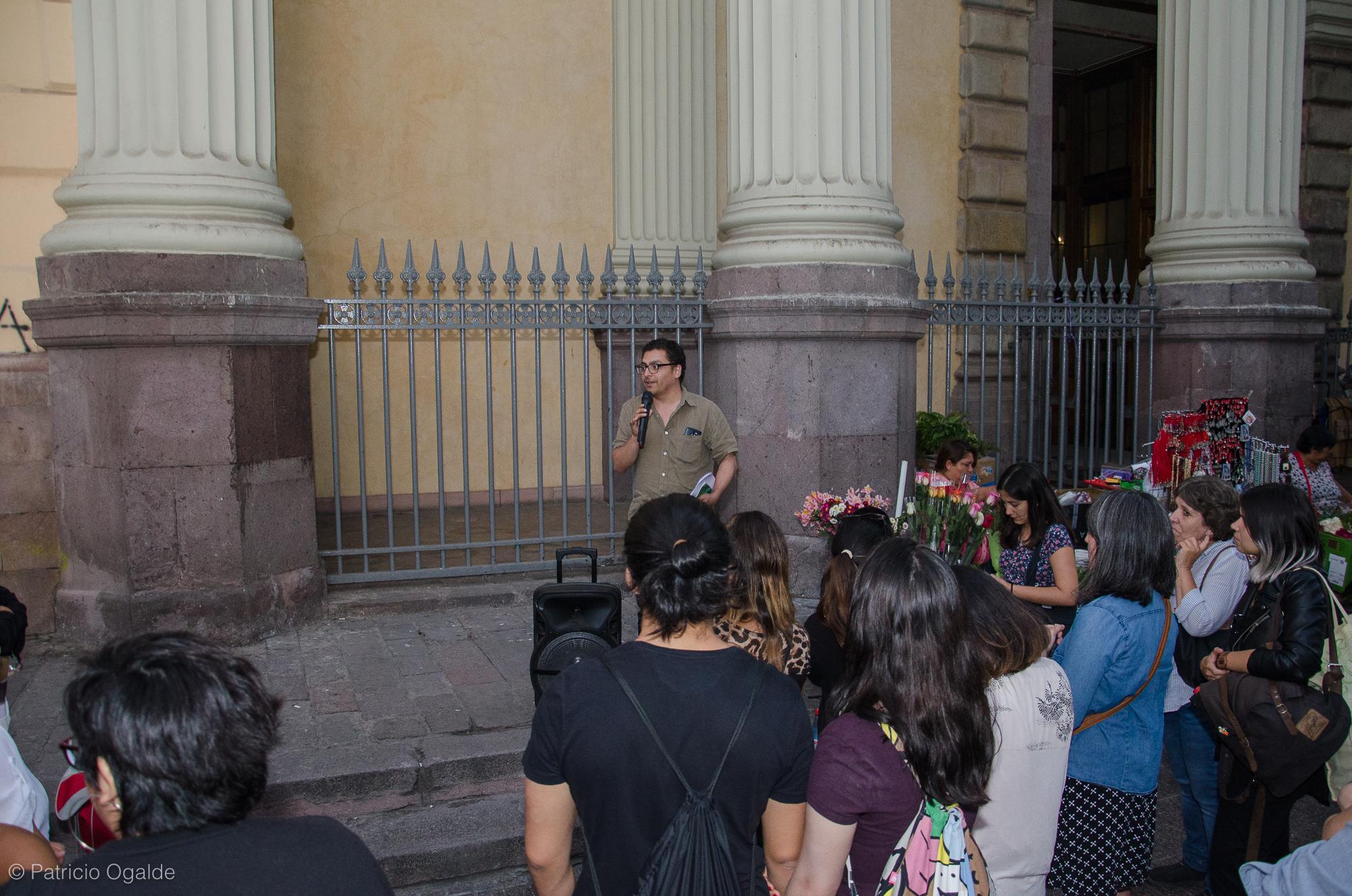 Imagen de Ruta de las memorias de las mujeres recorrió Santiago